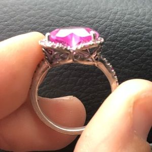 Size 7 Heart ring